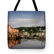 Stonington Lobster Co-op Tote Bag by Susan Cole Kelly