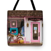 Store - Lulu And Tutz Tote Bag by Mike Savad