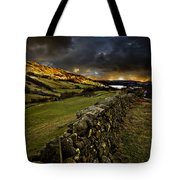 Storm Over Windermere Tote Bag by Meirion Matthias