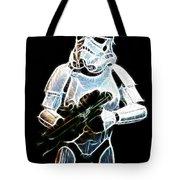 Storm Trooper Tote Bag by Paul Ward