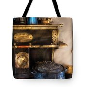 Stove - The Stove Tote Bag by Mike Savad