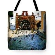 Street Pigeons Tote Bag by Perry Webster
