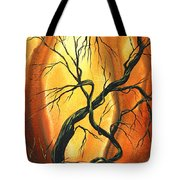 Striving To Be The Best By Madart Tote Bag by Megan Duncanson