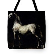Study Of A Dapple Grey Tote Bag by Theodore Gericault