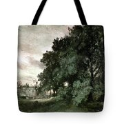 Study Of Trees Tote Bag by John Constable