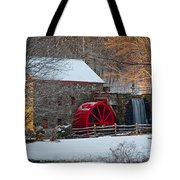 Sudbury Gristmill Tote Bag by Susan Cole Kelly
