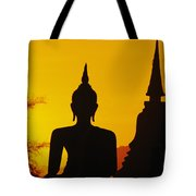 Sukhothai Temple Tote Bag by Gloria & Richard Maschmeyer - Printscapes