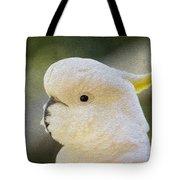 Sulphur Crested Cockatoo Tote Bag by Sheila Smart
