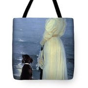 Summer Evening At Skagen Tote Bag by Peder Severin Kroyer