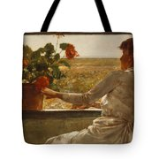 Summer Evening Tote Bag by Childe Hassam