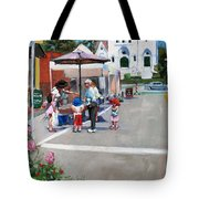 Summer In Hingham Tote Bag by Laura Lee Zanghetti