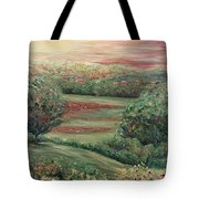 Summer In Tuscany Tote Bag by Nadine Rippelmeyer