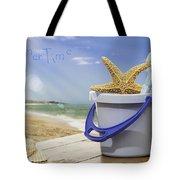 Summer Vacation Tote Bag by Amanda Elwell