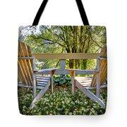 Summertime Tote Bag by Debra and Dave Vanderlaan