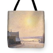 Sun And Snow Tote Bag by Per Ekstrom