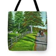 Sunday Drive Tote Bag by Charlotte Blanchard
