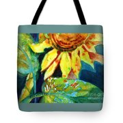 Sunflower Head 4 Tote Bag by Kathy Braud