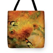 Sunflowers Tote Bag by Carol Cavalaris