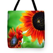 Sunflowers  Tote Bag by Mark Ashkenazi