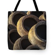 Sunlit Pottery Tote Bag by Sandra Bronstein