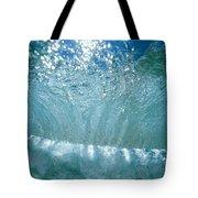 Sunlit Wave Tote Bag by Vince Cavataio - Printscapes