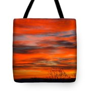 Sunrise In Ithaca Tote Bag by Paul Ge