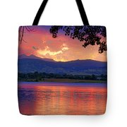 Sunset 6.27.10 - 28 Tote Bag by James BO  Insogna