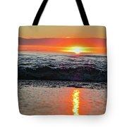 Sunset Beach Tote Bag by Douglas Barnard