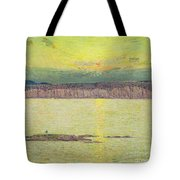 Sunset Tote Bag by Childe Hassam
