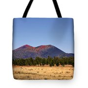 Sunset Crater Volcano National Monument Tote Bag by Christine Till