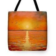 Sunset Tote Bag by John  Nolan