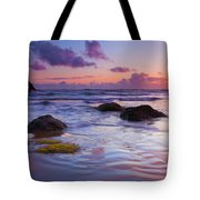 Sunset Ripples Tote Bag by Mike  Dawson