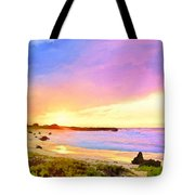 Sunset Walk Tote Bag by Dominic Piperata