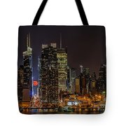 Super Moon Rising Tote Bag by Susan Candelario