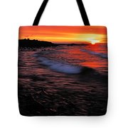 Superior Sunrise 2 Tote Bag by Larry Ricker