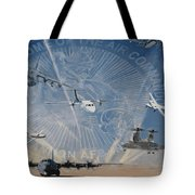 Superior Support Tote Bag by Todd Krasovetz