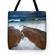Surfs Up Tote Bag by Mike  Dawson