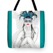 Survivor - Self Portrait Tote Bag by Jaeda DeWalt