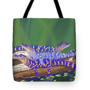 Swamp Babies Tote Bag by Tracy L Teeter