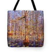 Swamp Tree Tote Bag by Susanne Van Hulst
