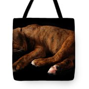 Sweet Dreams Puppy Tote Bag by Angie Tirado-McKenzie