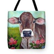 Sweet Matilda Tote Bag by Laura Carey