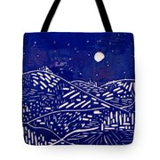 Sweet Night Tote Bag by Jason Messinger