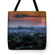 Syracuse Sunrise Tote Bag by Everet Regal