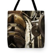 Tac Room Saddles Tote Bag by John Greim