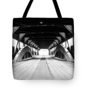 Taftsville Covered Bridge Tote Bag by Greg Fortier