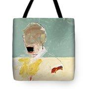 Talking Head Tote Bag by Cliff Spohn