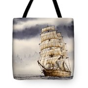 Tall Ship Adventure Tote Bag by James Williamson