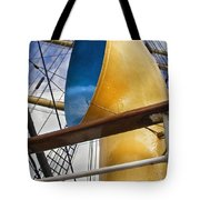 Tall Ship Tote Bag by Robert Lacy