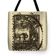 Tan Mark Tote Bag by Brian Drake - Printscapes